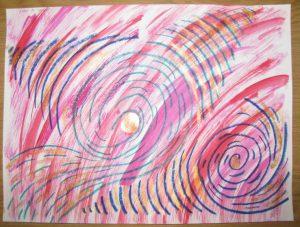 Kraftbilder, Energiebilder, Meditationsbilder, Seelenbilder und Seelenmandalas im Format A 3