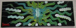 Acryl auf Leinwand: Kraftbilder - Meditationsbilder - Energiebilder - Seelenmandalas