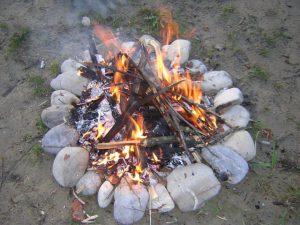 Beltaine (Beltane oder auch Walpurgisnacht) Feuer