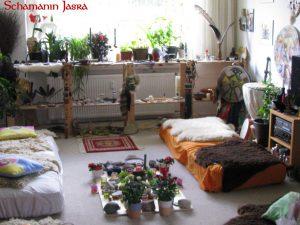 schamanische Praxis Schamanin Jasra