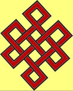 Die Bedeutung und Anwendung magischer, spiritueller Symbole und Gegenstände: Endlosknoten