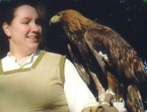 Krafttier Adler Schamanin Jasra