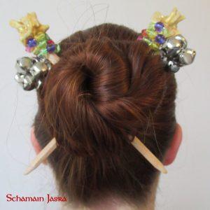 Haarschmuck - Haarstab, Haarstäbe