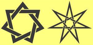 Die Bedeutung und Anwendung magischer, spiritueller Symbole und Gegenstände: Heptagramm