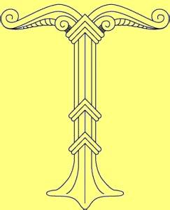 Die Bedeutung und Anwendung magischer, spiritueller Symbole und Gegenstände: Die Irminsul