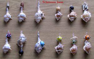 Amulette Halbedelsteinanhänger - Kettenanhänger