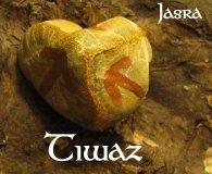 Die Bedeutung und Anwendung magischer, spiritueller Symbole und Gegenstände: Die Runen des 24er Futhark, Tiwaz - T - Tyr