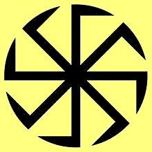 Das Kolovrat Symbol