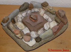 Schamanische Steinkreise, Energiekreise, Energiesteinkreise, Kraftsteine, Steinreihen, Spiralen, Medizinräder
