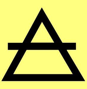 Die Bedeutung und Anwendung magischer, spiritueller Symbole und Gegenstände: Luft Symbol