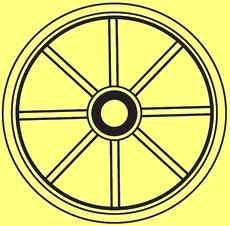 Die Bedeutung und Anwendung magischer, spiritueller Symbole und Gegenstände: Das Rad