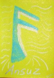 Runenbilder, Ansuz