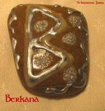 Die Bedeutung und Anwendung magischer, spiritueller Symbole und Gegenstände: Die Runen des 24er Futhark, Berkana - B - Birke