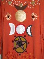 Schamanengewand, Schamanenkostüm, Schamanentracht, Ritualrobe, Ritualgewand, Ritualkleidung