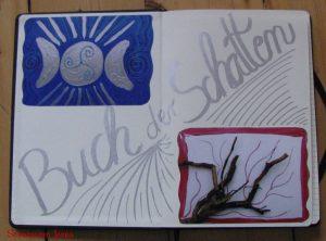 Buch der Schatten, magisches Tagebuch, book of shadows