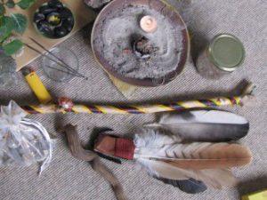 Werkzeuge für die schamanische Extraktion