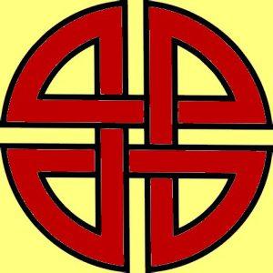 Die Bedeutung und Anwendung magischer, spiritueller Symbole und Gegenstände: Der Schildknoten