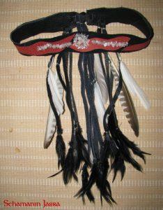 Stirnband mit Federn