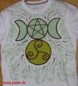 Triskele, Pentagramm, Mondin