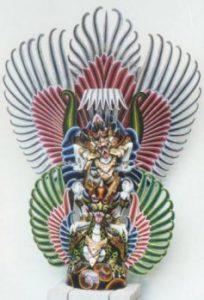 Krafttier Garuda