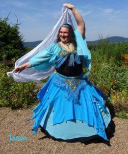 Tänzerin Jasra