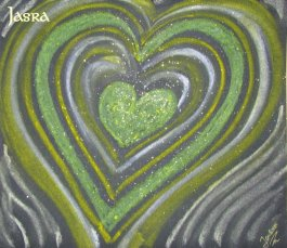 Herzkraftbilder, Kraftbilder - Meditationsbilder - Energiebilder - Seelenmandalas