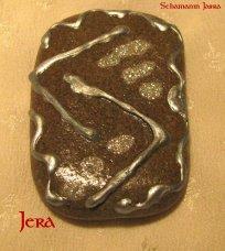 Die Bedeutung und Anwendung magischer, spiritueller Symbole und Gegenstände: Die Runen des 24er Futhark, Jera -  J - Jahr