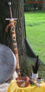 Die Bedeutung und Anwendung magischer, spiritueller Symbole und Gegenstände: Das Schwert